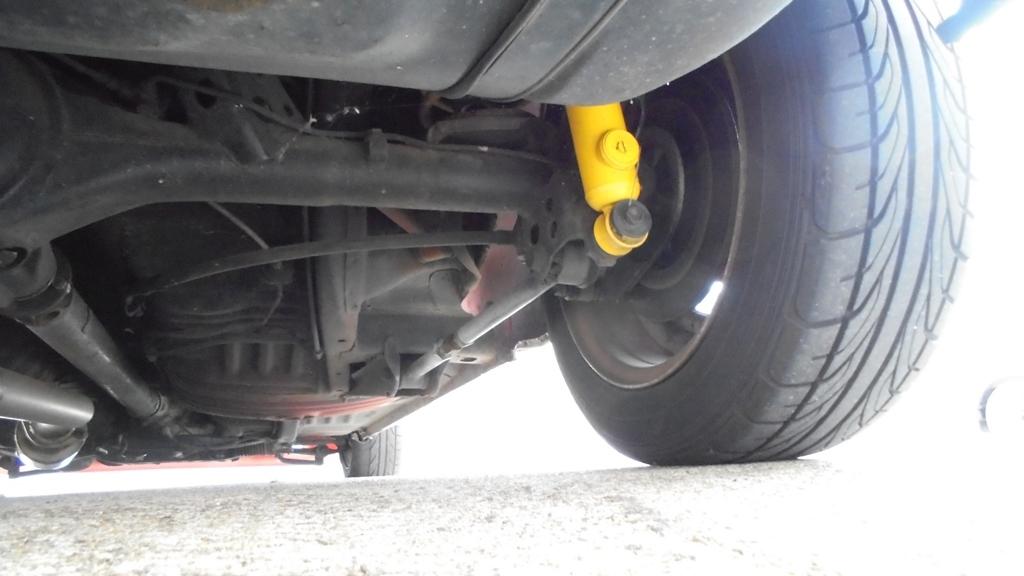 トヨタ スターレット KP61 4K改 直立 FCRキャブなど ボディの程度がイマイチです_画像6
