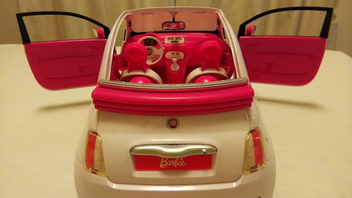 フィアット FIAT 500 超ビッグサイズ!バービー Barbie マテル社_画像3