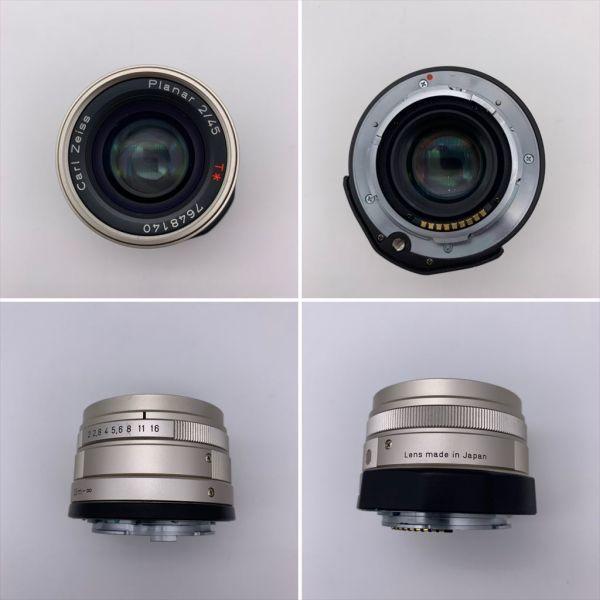 I604-17/MY20000 CONTAX コンタックス レンジファインダー G1 / Carl Zeiss Planar 2/45_画像5