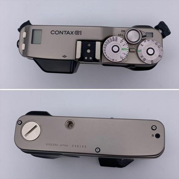I604-17/MY20000 CONTAX コンタックス レンジファインダー G1 / Carl Zeiss Planar 2/45_画像4