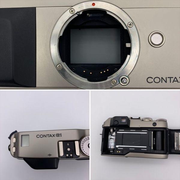 I604-17/MY20000 CONTAX コンタックス レンジファインダー G1 / Carl Zeiss Planar 2/45_画像3