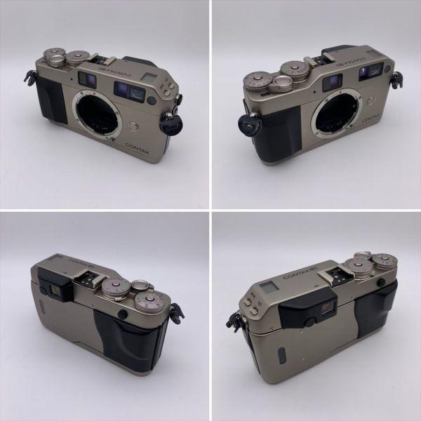 I604-17/MY20000 CONTAX コンタックス レンジファインダー G1 / Carl Zeiss Planar 2/45_画像2