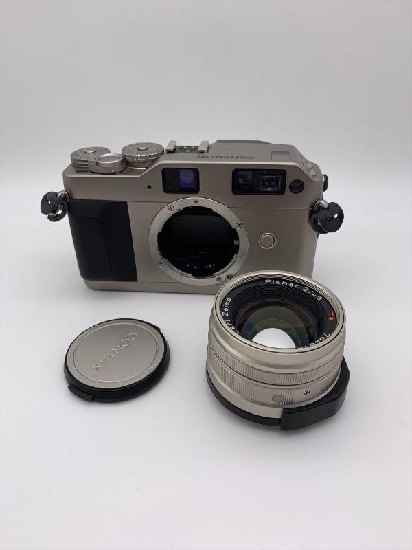 I604-17/MY20000 CONTAX コンタックス レンジファインダー G1 / Carl Zeiss Planar 2/45
