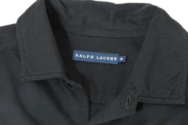 ラルフローレン RALPH LAUREN コットン100% 両裾スリット ロング丈 長袖 シャツ ワンピース♪_画像6