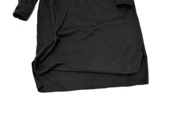 ラルフローレン RALPH LAUREN コットン100% 両裾スリット ロング丈 長袖 シャツ ワンピース♪_画像5