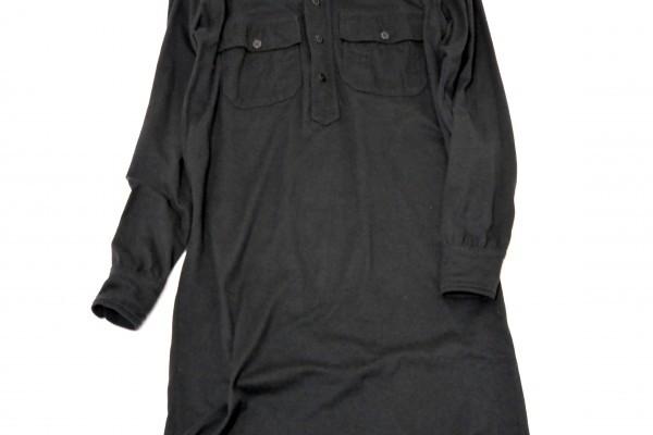 ラルフローレン RALPH LAUREN コットン100% 両裾スリット ロング丈 長袖 シャツ ワンピース♪_画像4