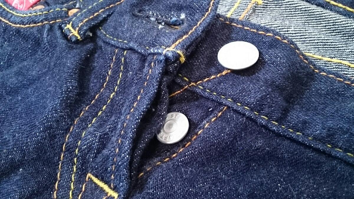 W27【EVISU/エビス】LADIES/レディース 女性用 ボトム パンツ デニム ジーパン ジーンズ ズボン カモメ インディゴ _画像7