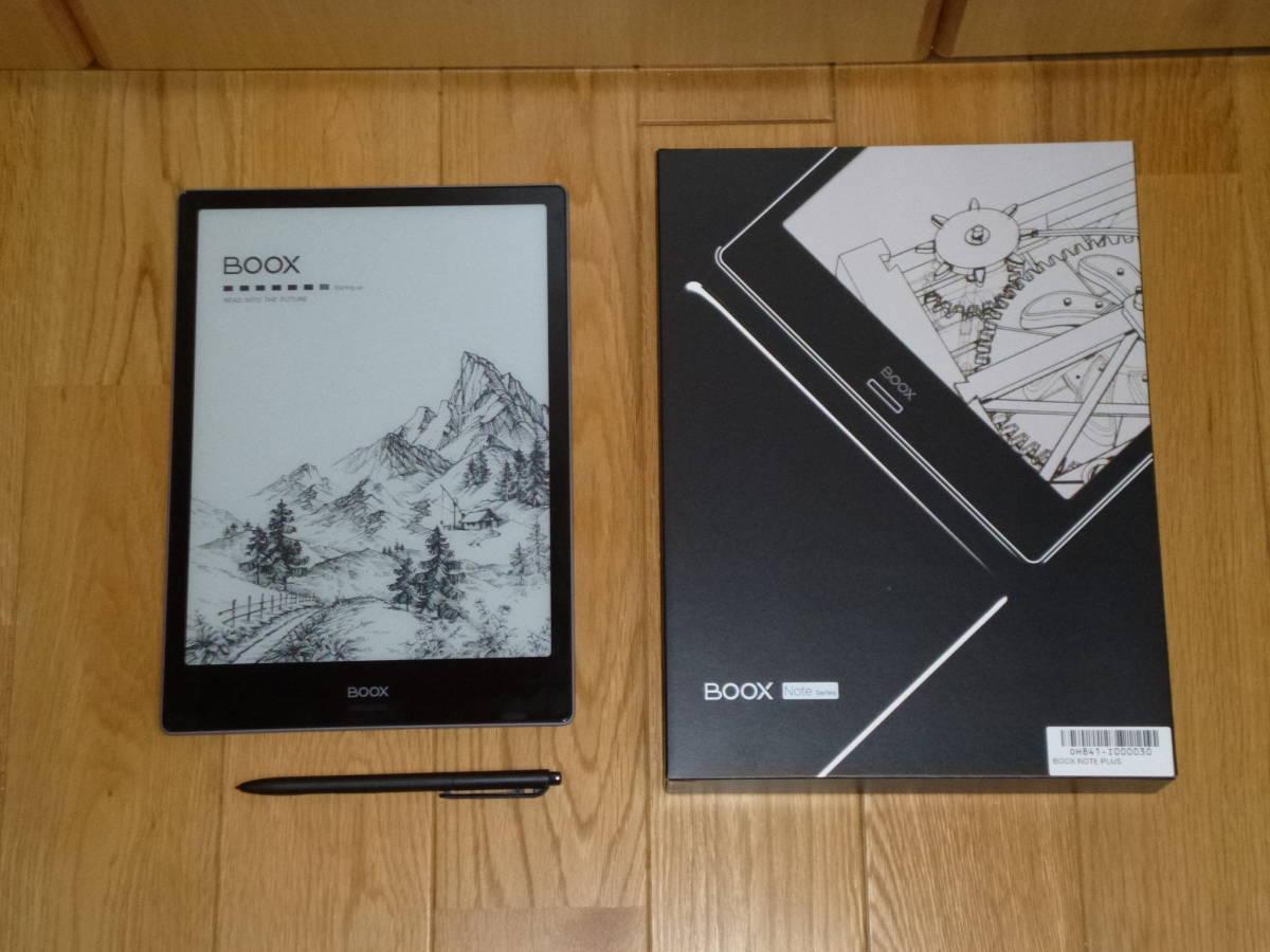 電子ペーパーAndroid ONYX BOOX Note Plus 中古