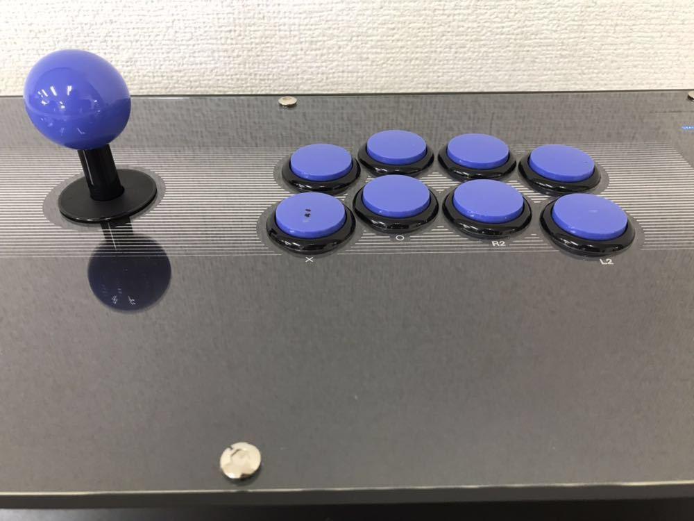 R061705 PS3ファイティングエッジ刃 HORI FIGHTING EDGE 3 刃 ジョイスティック 動作未確認 ジャンク扱い_画像4