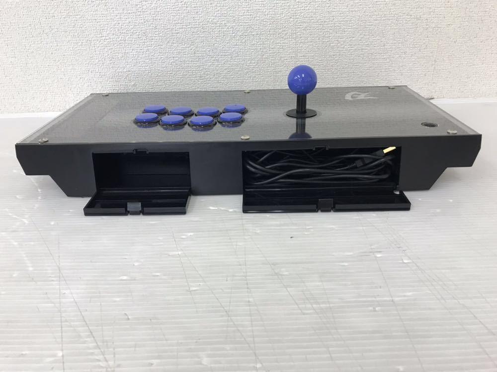 R061705 PS3ファイティングエッジ刃 HORI FIGHTING EDGE 3 刃 ジョイスティック 動作未確認 ジャンク扱い_画像6