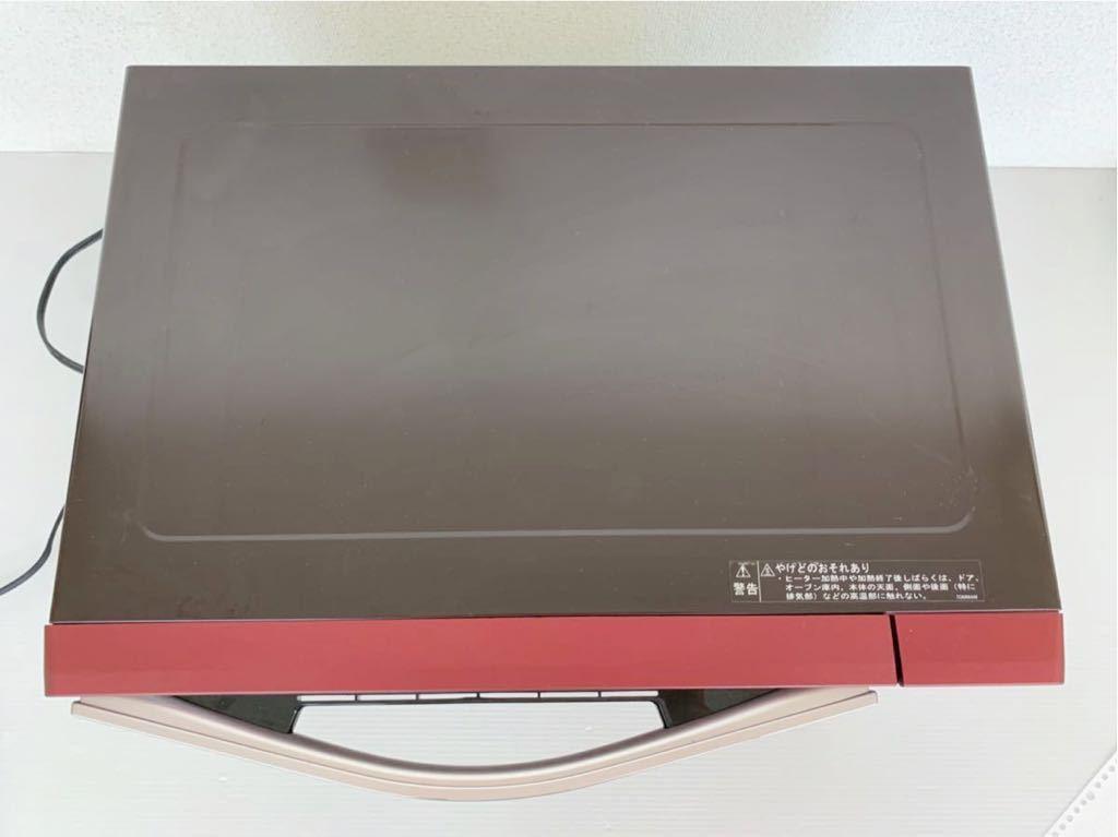 P062501 シャープ SHARP RE-SS9B-R [過熱水蒸気オーブンレンジ 23L レッド系 1段調理] 動作確認済み_画像5