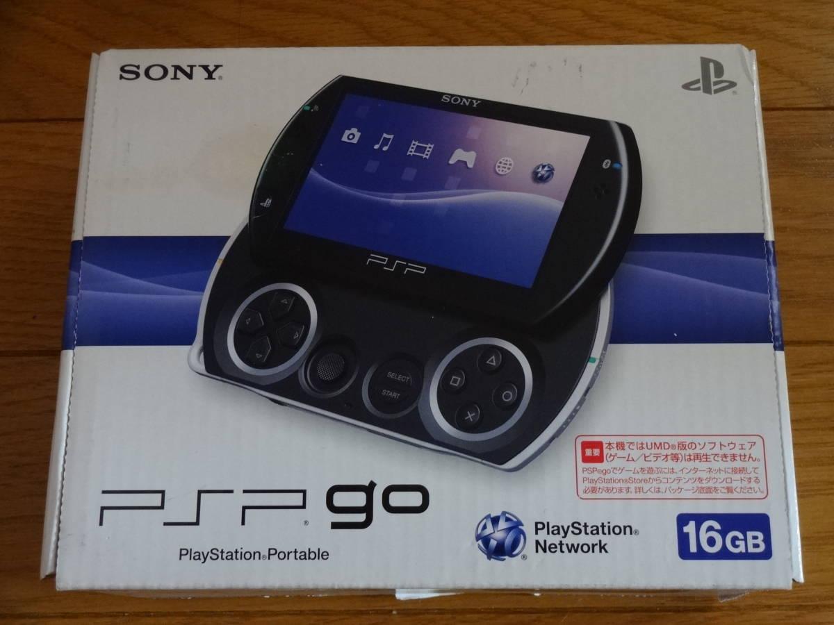 SONY ソニー PSPgo PSO-N1000 PB(ピアノブラック) 16GB