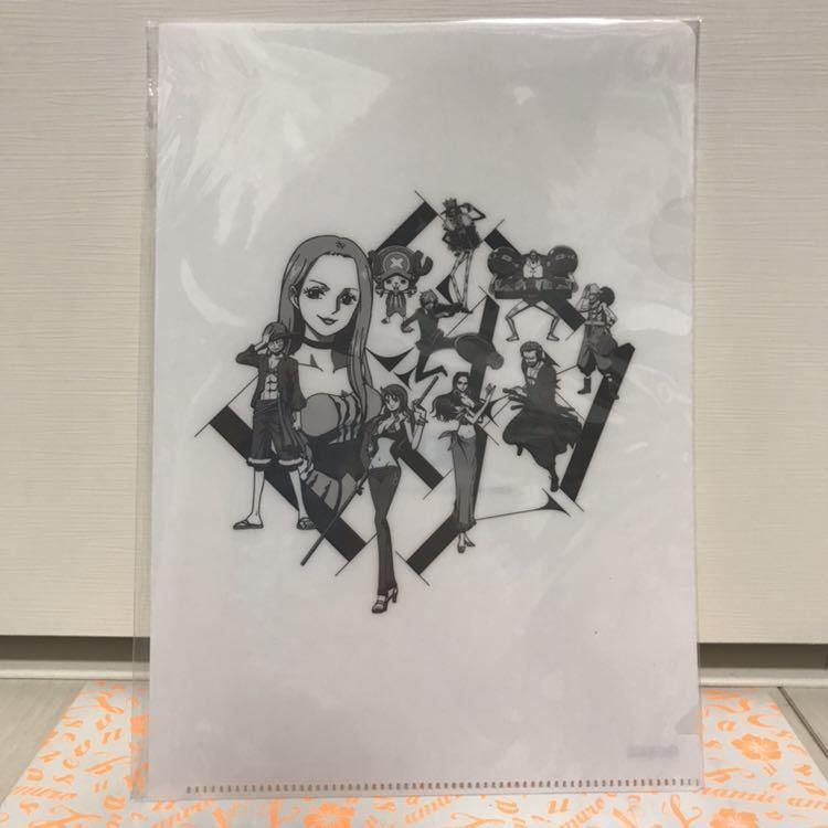 新品 安室奈美恵 final tour 2018 ~finally~ nanacoカード ワンピースコラボクリアファイル ナナコ ワンピース セブンネット限定特典_画像3