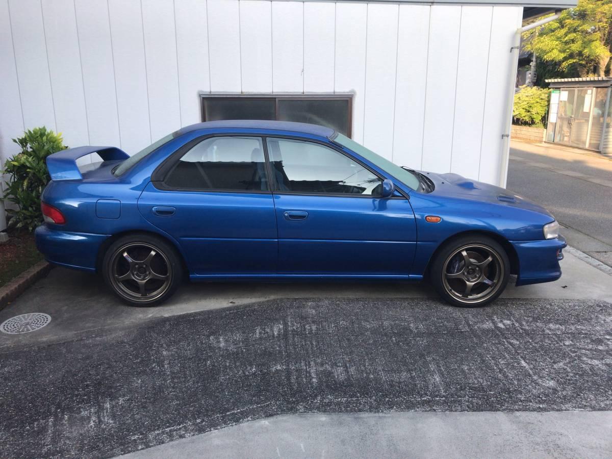 1円~売り切り!初代GC8 1999年式 スバル インプレッサ WRX type RA Limited アルミ マフラー 車高調 sti 車検付(2019/7)_画像5