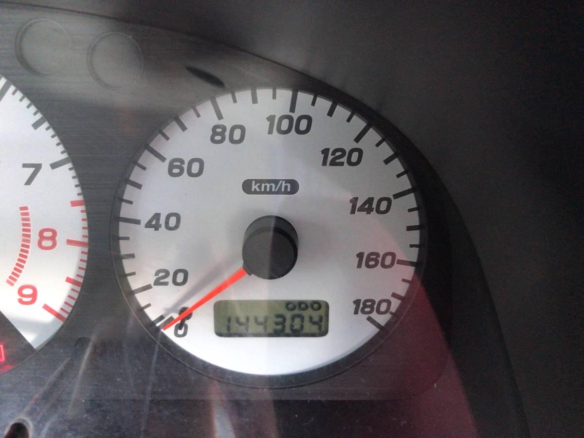 1円~売り切り!初代GC8 1999年式 スバル インプレッサ WRX type RA Limited アルミ マフラー 車高調 sti 車検付(2019/7)_画像6