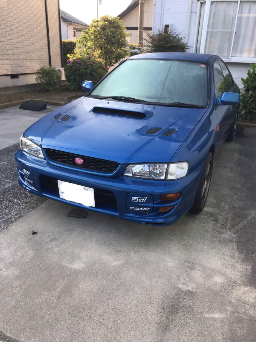 1円~売り切り!初代GC8 1999年式 スバル インプレッサ WRX type RA Limited アルミ マフラー 車高調 sti 車検付(2019/7)