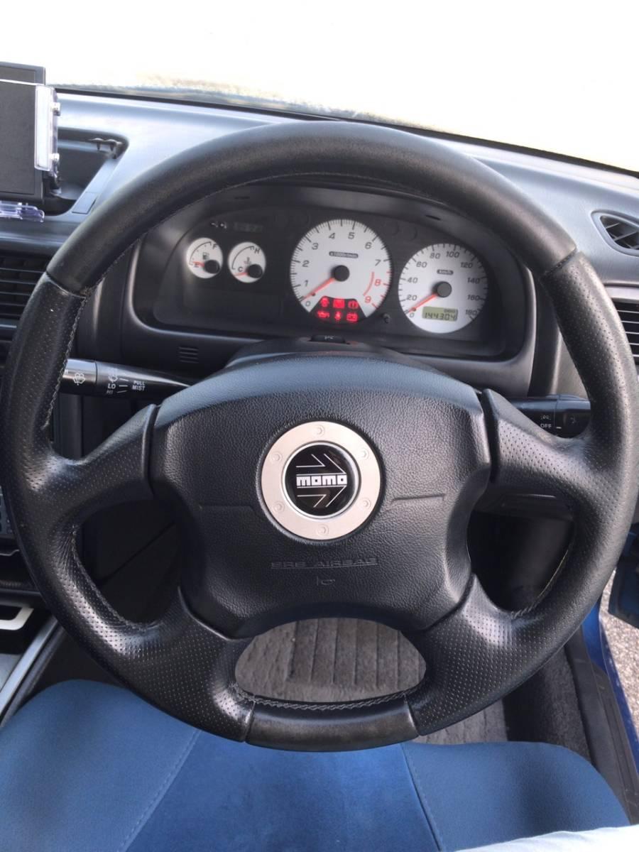 1円~売り切り!初代GC8 1999年式 スバル インプレッサ WRX type RA Limited アルミ マフラー 車高調 sti 車検付(2019/7)_画像9