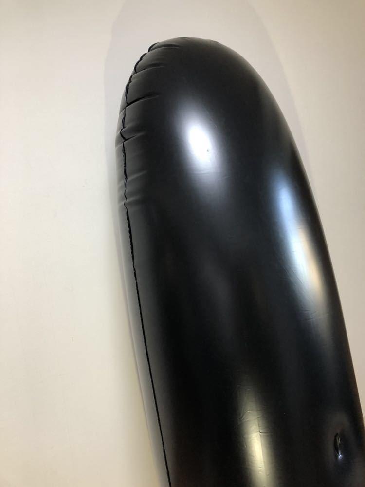 【ブラック】1.9m 超巨大エアーパンチング 穴付き空ビ バルーン POP