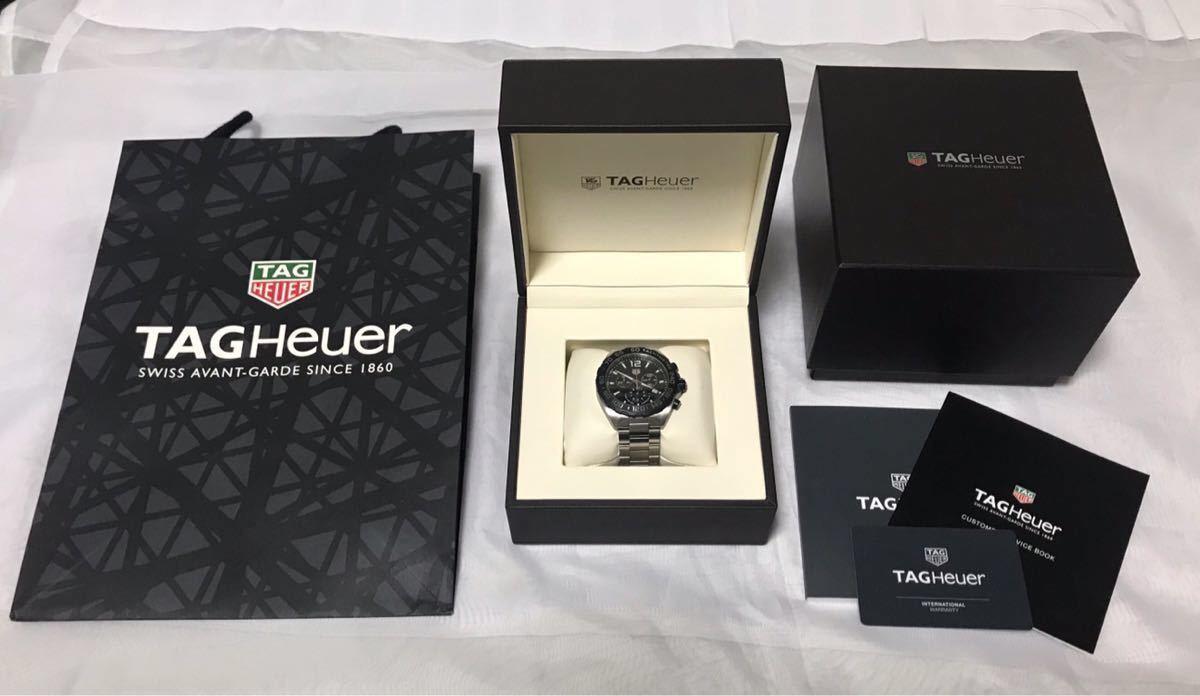◯送料無料◯【2019.4月購入 美品】タグ・ホイヤー フォーミュラ1 CAZ1010 TAG Heuer メンズ 腕時計 クォーツ 【保証残り3年以上】_画像1