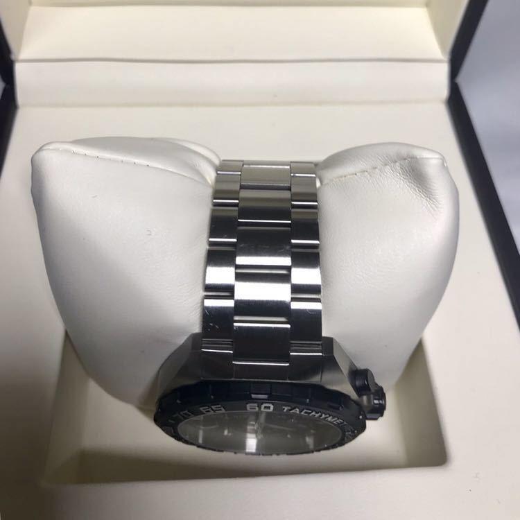 ◯送料無料◯【2019.4月購入 美品】タグ・ホイヤー フォーミュラ1 CAZ1010 TAG Heuer メンズ 腕時計 クォーツ 【保証残り3年以上】_画像5