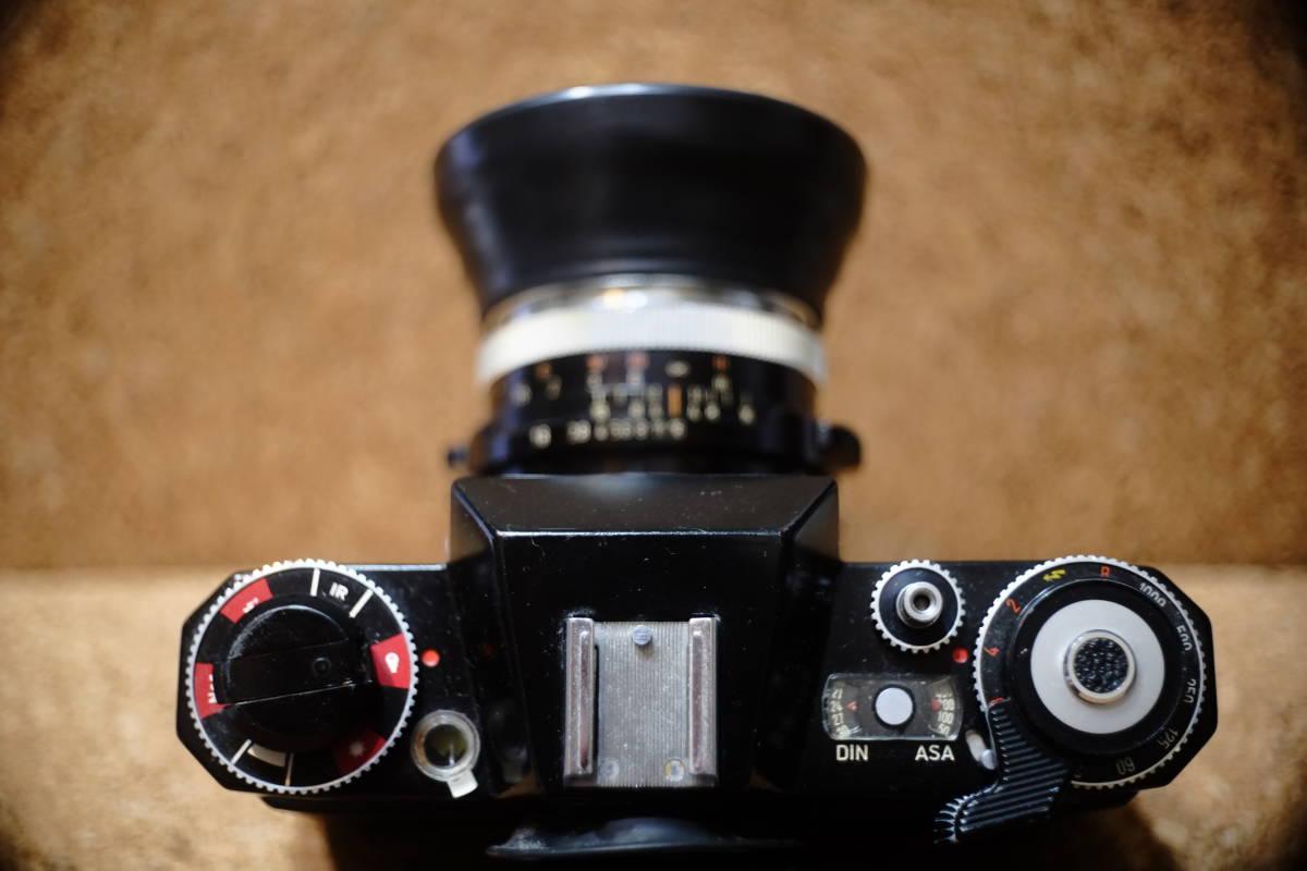 希少 ZEISS IKON ツァイス イコン Icarex 35S TM PRO イカレックス ブラックペイント ボディのみ 一眼レフ シャッター切れますがジャンク!_画像10