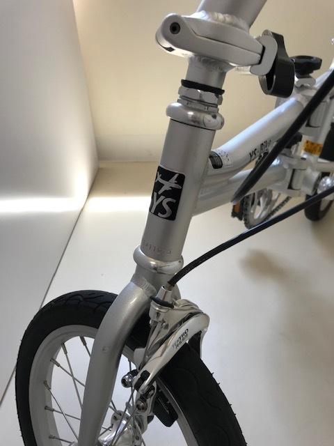 YS-11/折畳み自転車/シングルギア/軽量・とにかく軽い! しかも早い!! 中古美品!! 市場にないレア自転車!!!_画像2