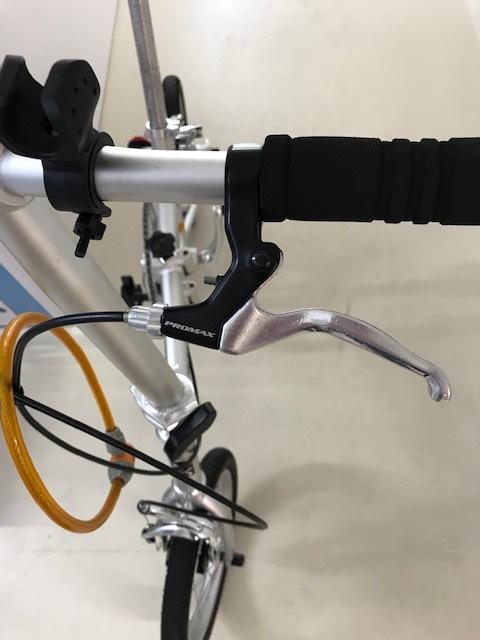 YS-11/折畳み自転車/シングルギア/軽量・とにかく軽い! しかも早い!! 中古美品!! 市場にないレア自転車!!!_画像8