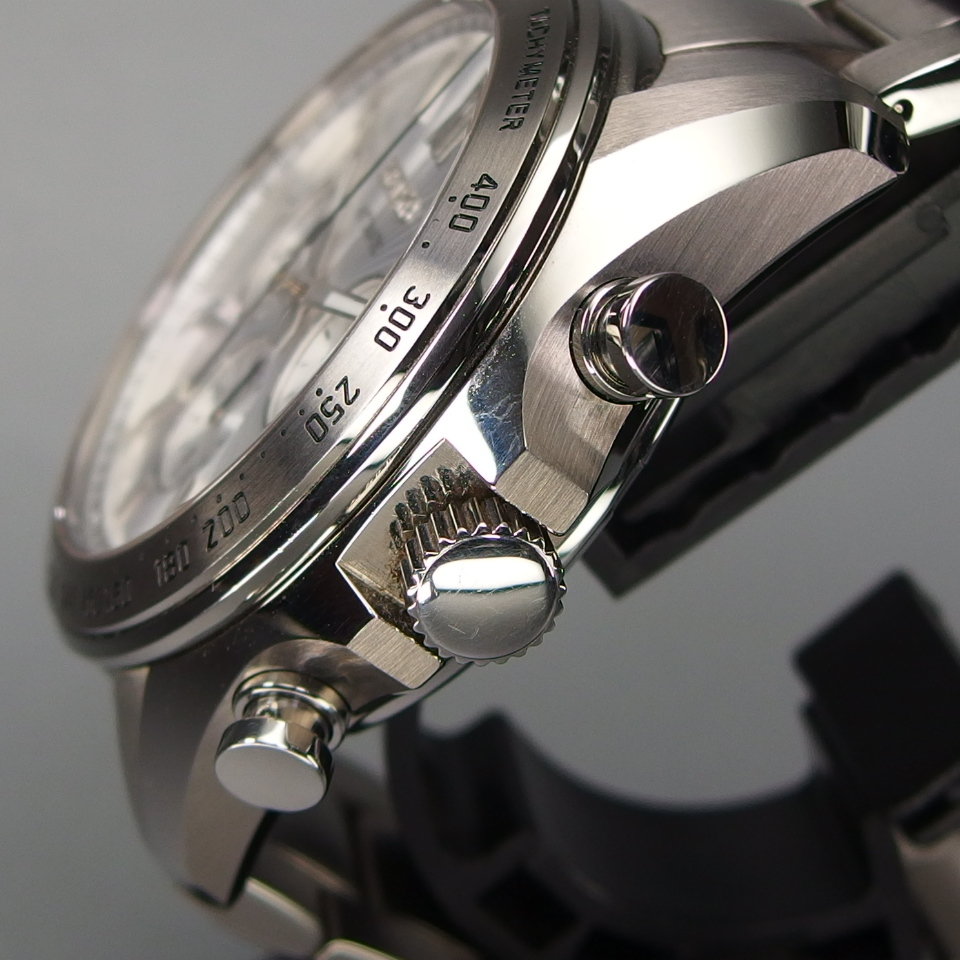 【送料無料 未使用品クラス】 SEIKO セイコー BRIGHTZ ブライツ クロノグラフ SDGZ001 自動巻 バックスケルトン メンズ 腕時計 ギャラ/箱付_画像4