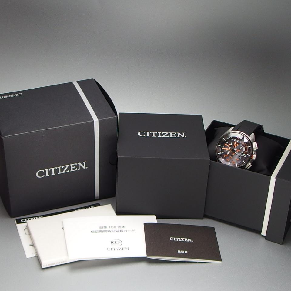 【超美品 メーカー保証期間内】 CITIZEN シチズン Eco-Drive Bluetooth 携帯端末接続機能付 W770-S114993 メンズ 腕時計 ギャラ/取説/箱付_画像9