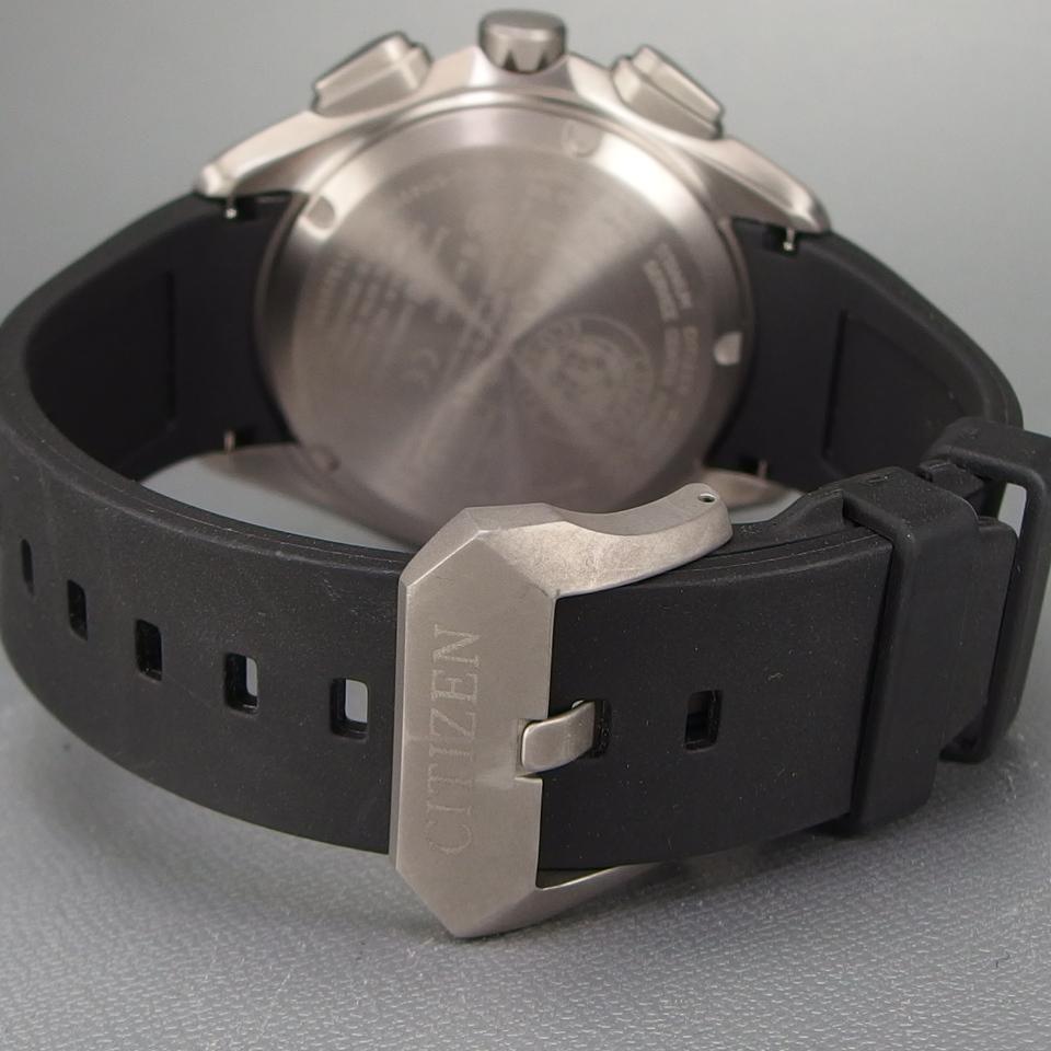 【超美品 メーカー保証期間内】 CITIZEN シチズン Eco-Drive Bluetooth 携帯端末接続機能付 W770-S114993 メンズ 腕時計 ギャラ/取説/箱付_画像7