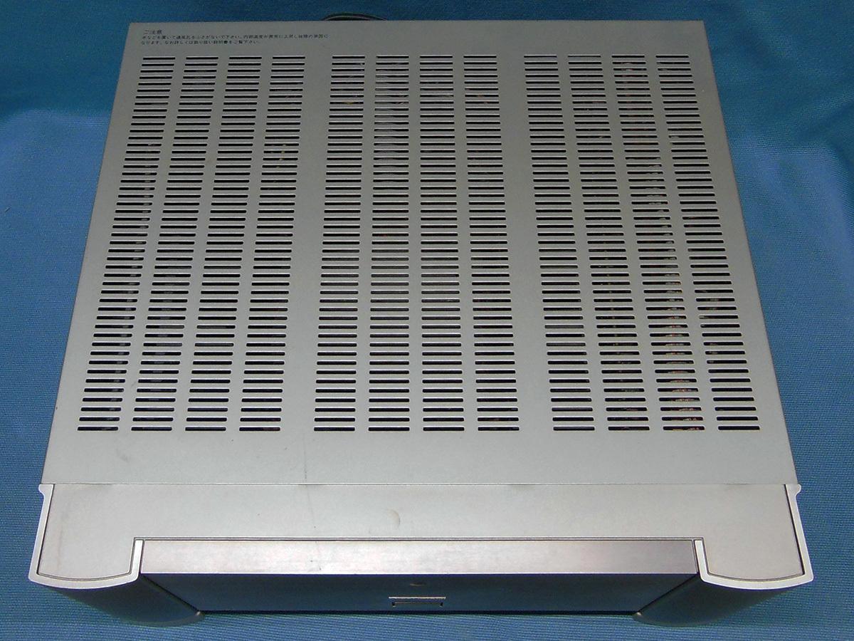 【訳あり】 DIATONE DA-A7000 マルチチャンネルパワーアンプ 三菱 MITSUBISHI DENON POA-5000 OEM デノン_画像3