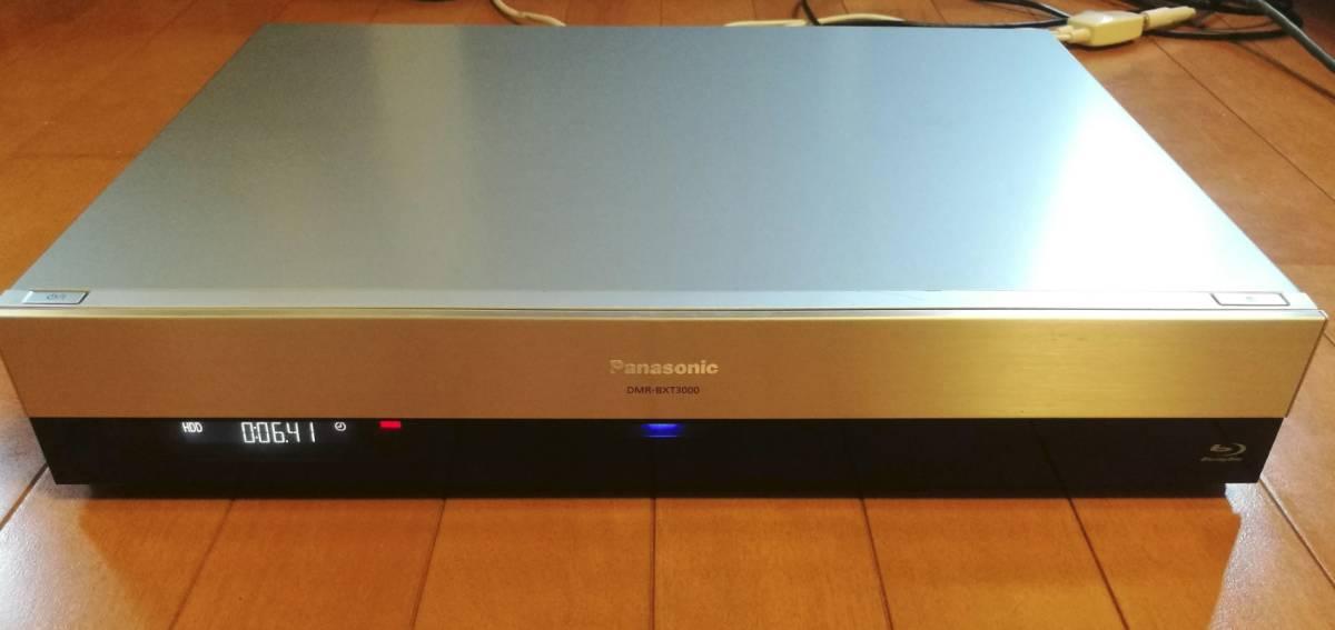◆◆ [ 2TB → 8TB 新品ST8000DM004 換装済 ]Panasonic DIGA DMR-BXT3000 美品・取説コピー付・動作品 [送料無料]