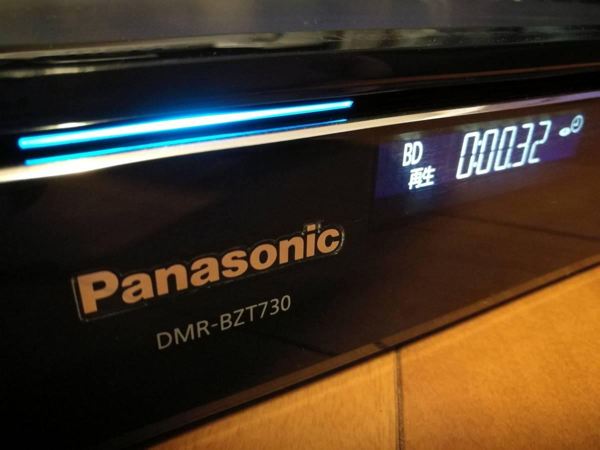 ◆◆ [ 2TB → 8TB 新品ST8000DM004 換装済 ]Panasonic DIGA DMR-BZT730 取説コピー付・動作品 [送料無料]
