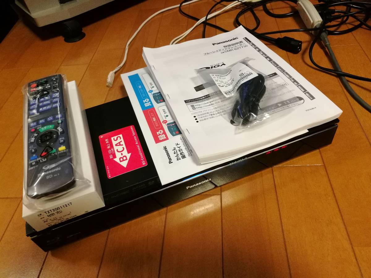 ◆◆ [ 2TB → 8TB 新品ST8000DM004 換装済 ]Panasonic DIGA DMR-BZT730 取説コピー付・動作品 [送料無料]_画像5