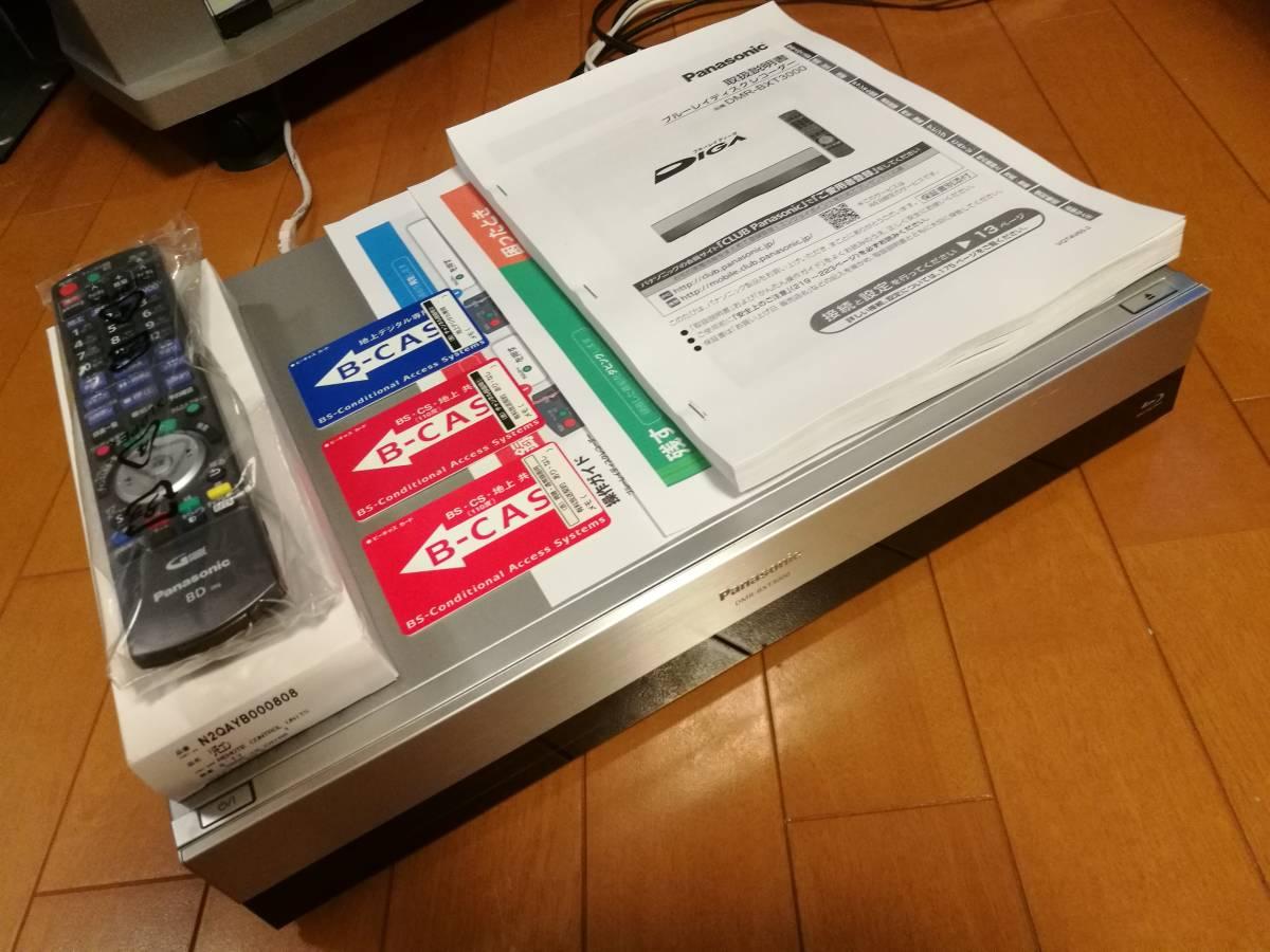 ◆◆ [ 2TB → 8TB 新品ST8000DM004 換装済 ]Panasonic DIGA DMR-BXT3000 美品・取説コピー付・動作品 [送料無料]_画像4
