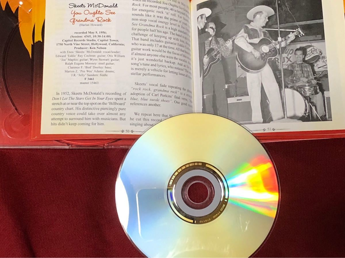 「THE HILLBILLIES THEY TRIED TO ROCK VOL.2」50'sロカビリーコンピ盤ベアファミリー_画像4