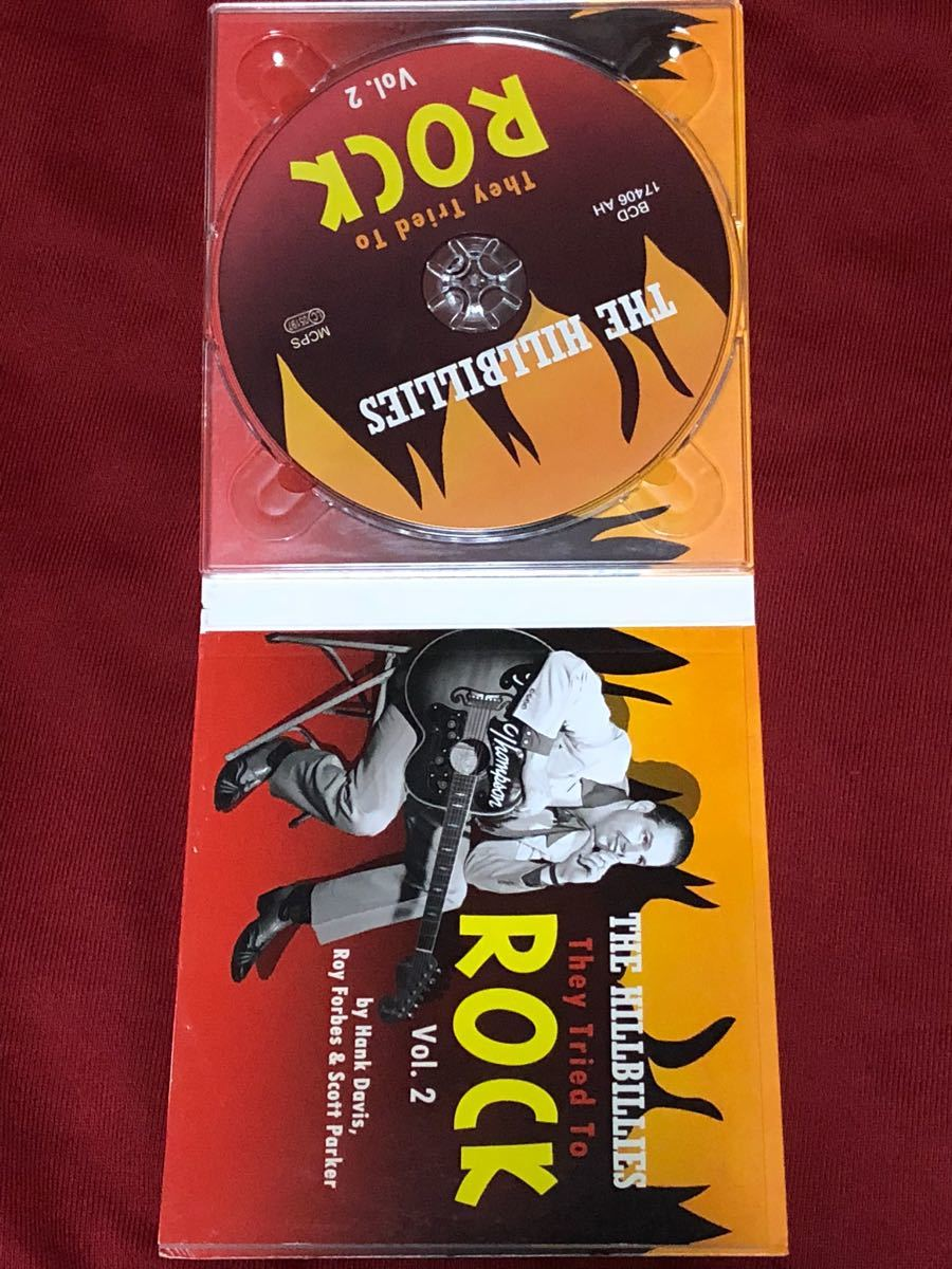 「THE HILLBILLIES THEY TRIED TO ROCK VOL.2」50'sロカビリーコンピ盤ベアファミリー_画像3