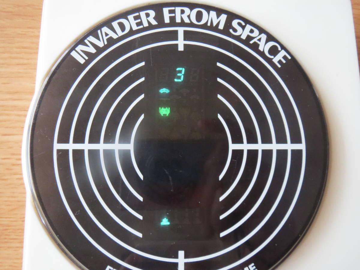遊べます 希少 1980年 インベーダーゲーム エポック エレクトロニック ゲーム INVADER FROM SPACE ビンテージ _画像4