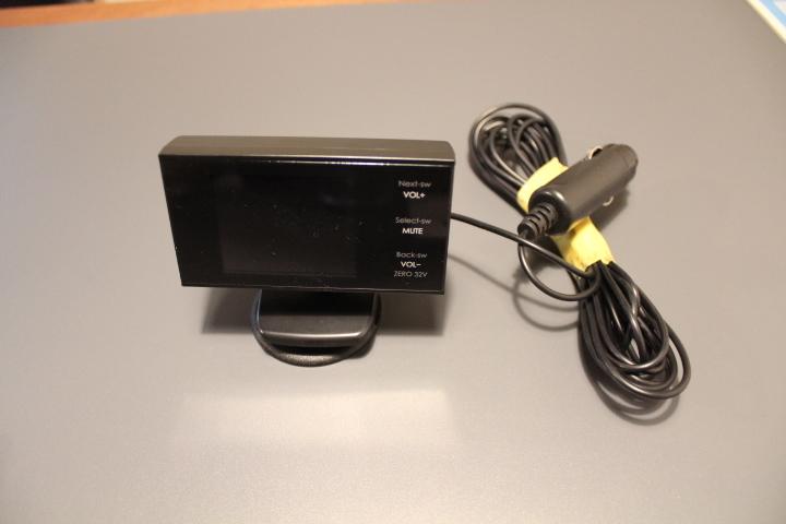 コムテック ZERO32V GPSレーダー 配線付き _画像1