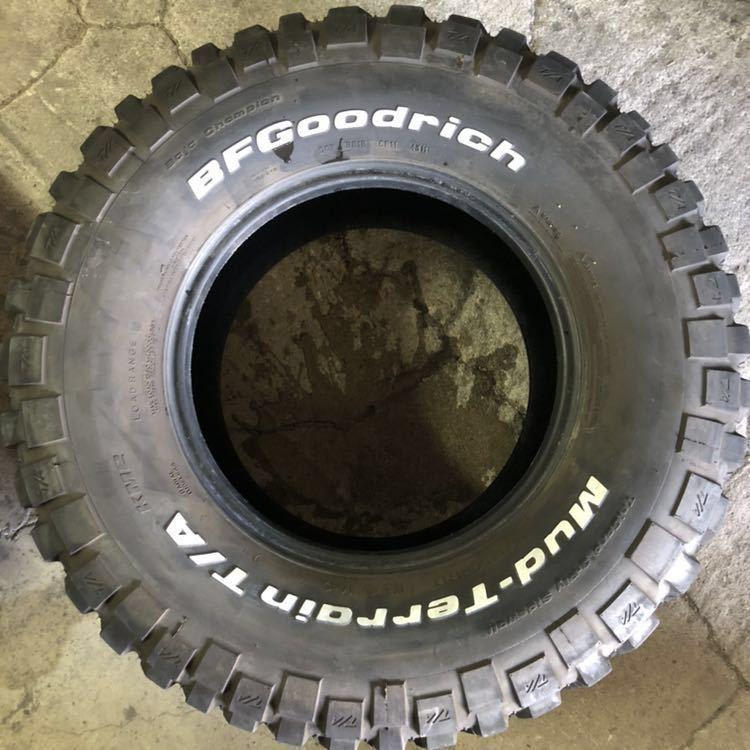 4本セット!BF Goodrich Mud Terrain T/A 35×12.5R17 グッドリッチ マッドテレーン_画像2