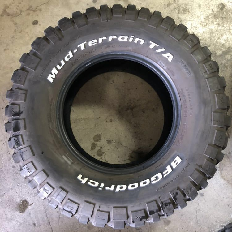 4本セット!BF Goodrich Mud Terrain T/A 35×12.5R17 グッドリッチ マッドテレーン_画像3