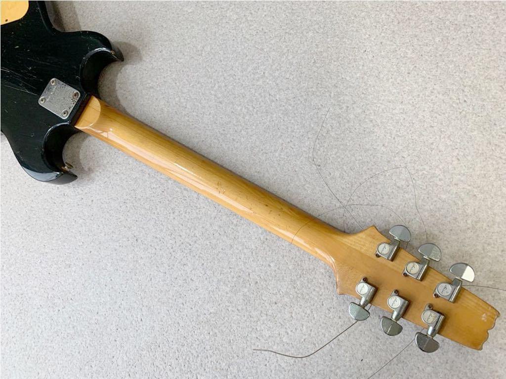 1円 動作品 Aria Pro II CS-350 希少! 黒 ブラック ビンテージ エレキギター ヴィンテージ 音出し確認済み 売り切り_画像8