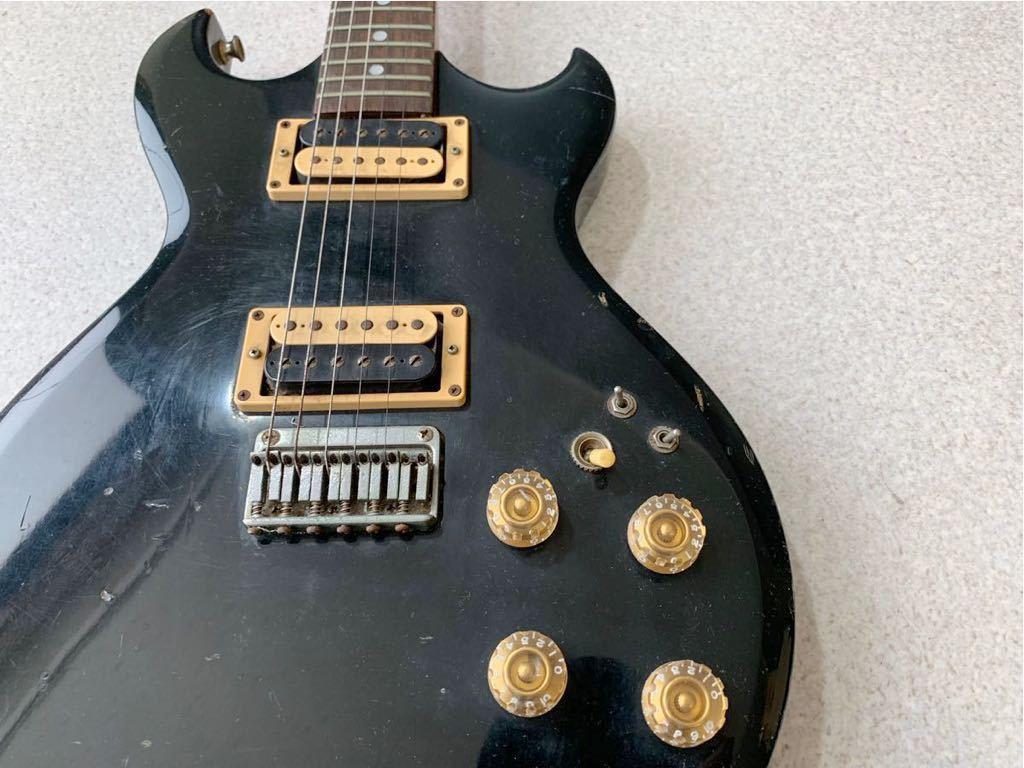1円 動作品 Aria Pro II CS-350 希少! 黒 ブラック ビンテージ エレキギター ヴィンテージ 音出し確認済み 売り切り_画像4