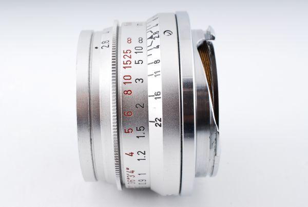 ★極上美品★Leica Summaron M 35mm F2.8 純正キャップ ズマロン#319_画像3