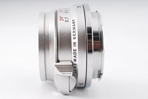 ★極上美品★Leica Summaron M 35mm F2.8 純正キャップ ズマロン#319_画像4
