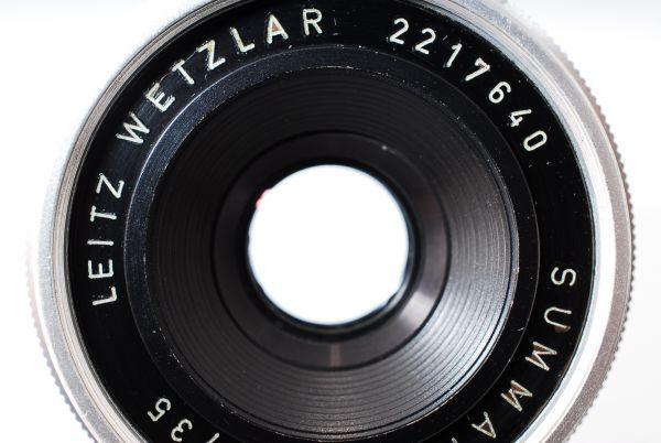 ★極上美品★Leica Summaron M 35mm F2.8 純正キャップ ズマロン#319_画像7