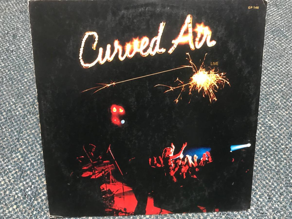 Curved Air / Curved Air Live 国内盤 カーブド・エア,Darryl Way_画像1