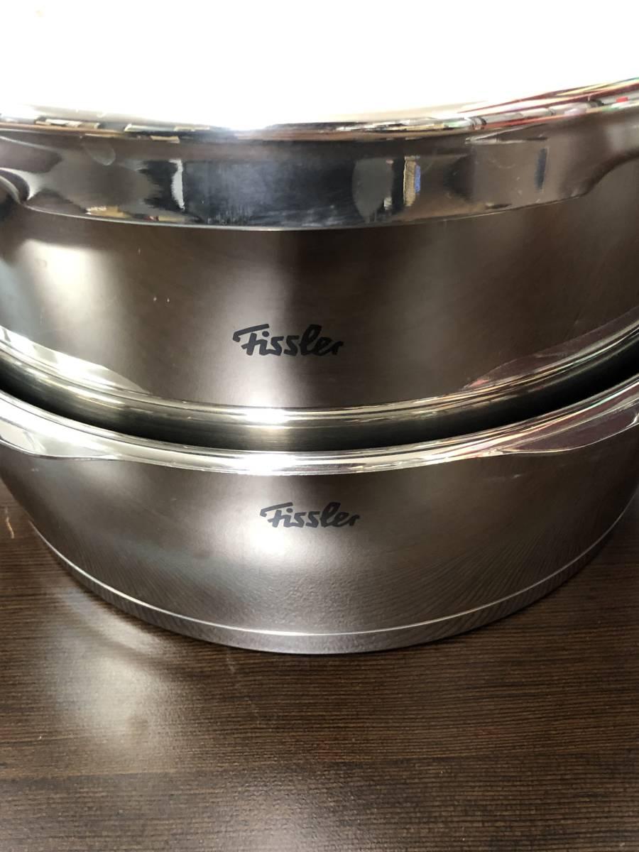 77YC6256 fissler フィスラー 片手 圧力鍋 セット 良品_画像3