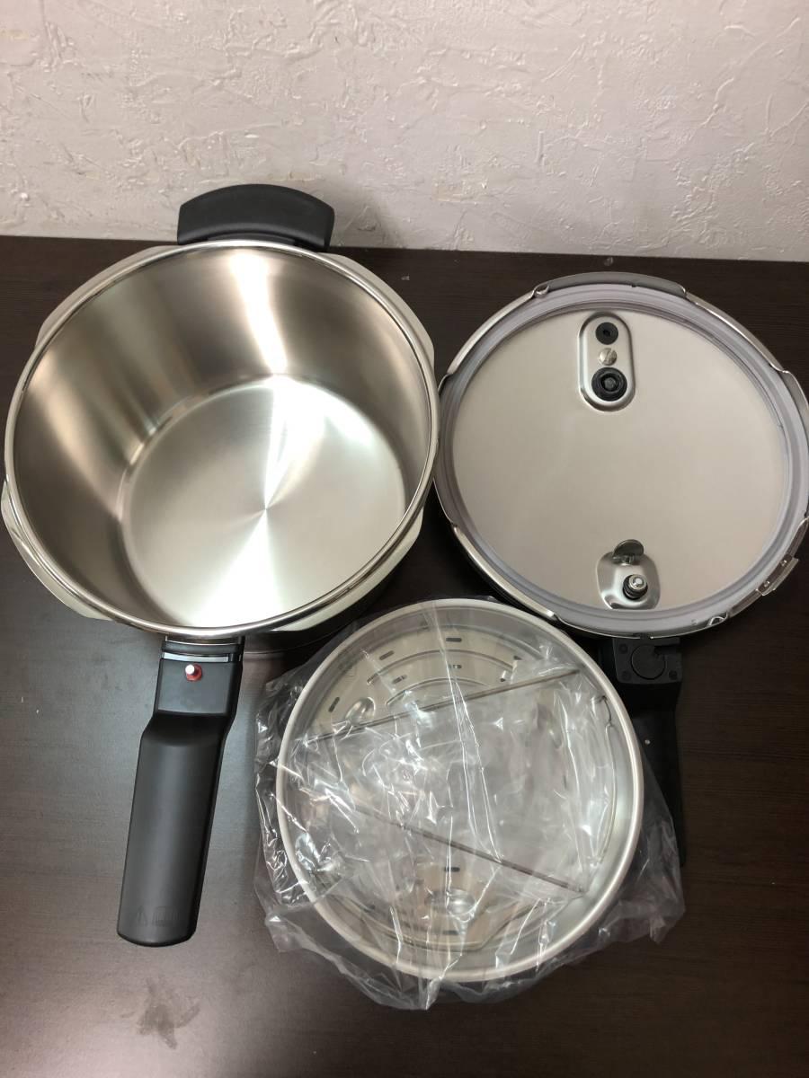 77YC6256 fissler フィスラー 片手 圧力鍋 セット 良品_画像5