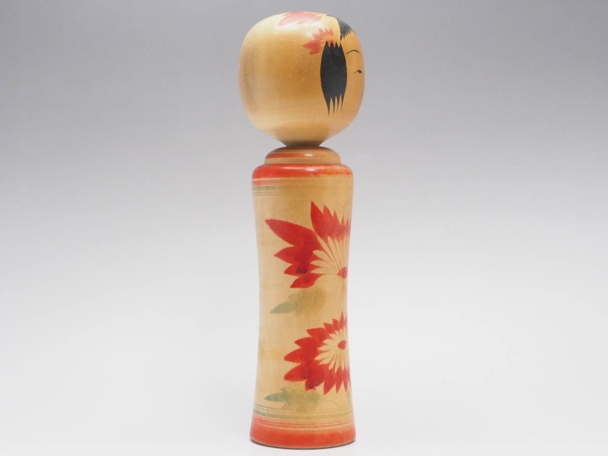 Z0A0072 【 鳴子系 高橋輝行 作 伝統こけし 高27.0cm 】 検) 作家物 木製 木工芸 こけし 日本人形 和風 置物 飾り物 オブジェ 人形 p02_画像5